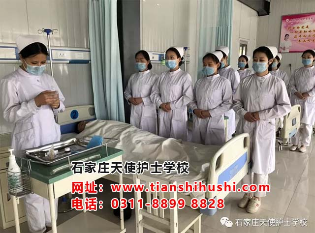 成绩差的女生来石家庄天使护士学校学护理好学吗?
