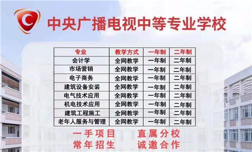 2021河北省电大中专招生简章(报名时间及专业)