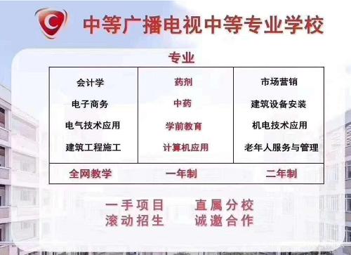 2021吉林省电大中专招生简章(报名时间及专业)